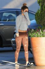 VANESSA HUDGENS in Tights Out and About in Los Angeles