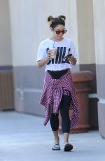 VANESSA HUDGENS Out and About in Los Angeles 1609