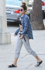 VANESSA HUDGENS Out and About in Studio City 2209