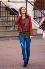 VICTORIA JUSTICE at Eye Candy Set in Brooklyn