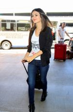 VICTORIA JUSTICE at Los Angeles International Airport 0209