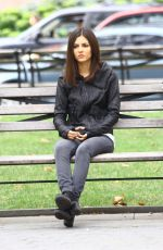 VICTORIA JUSTICE on the Set of Eye Candy in New York 2209