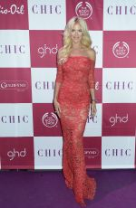 VICTORIA SILVSEDT at Chic Celebrity of the Year in Stockholm