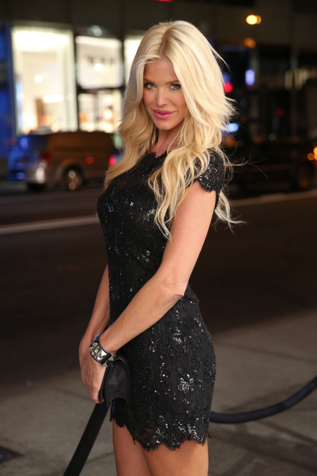VICTORIA SILVSTEDT at Philipp Plein Cocktail Party in New York