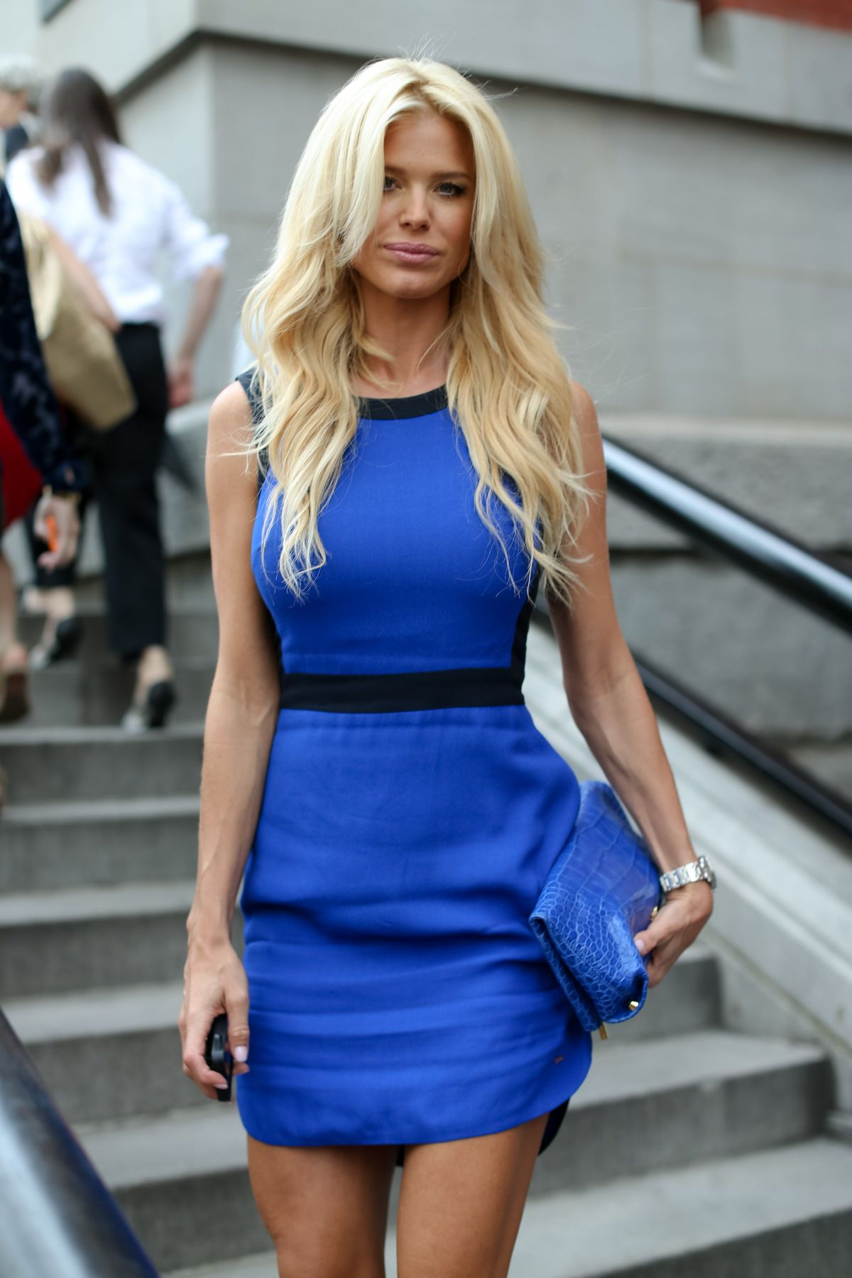 VICTORIA SILVSTEDT at Tommy Hilfiger Women's Fashion Show in New York