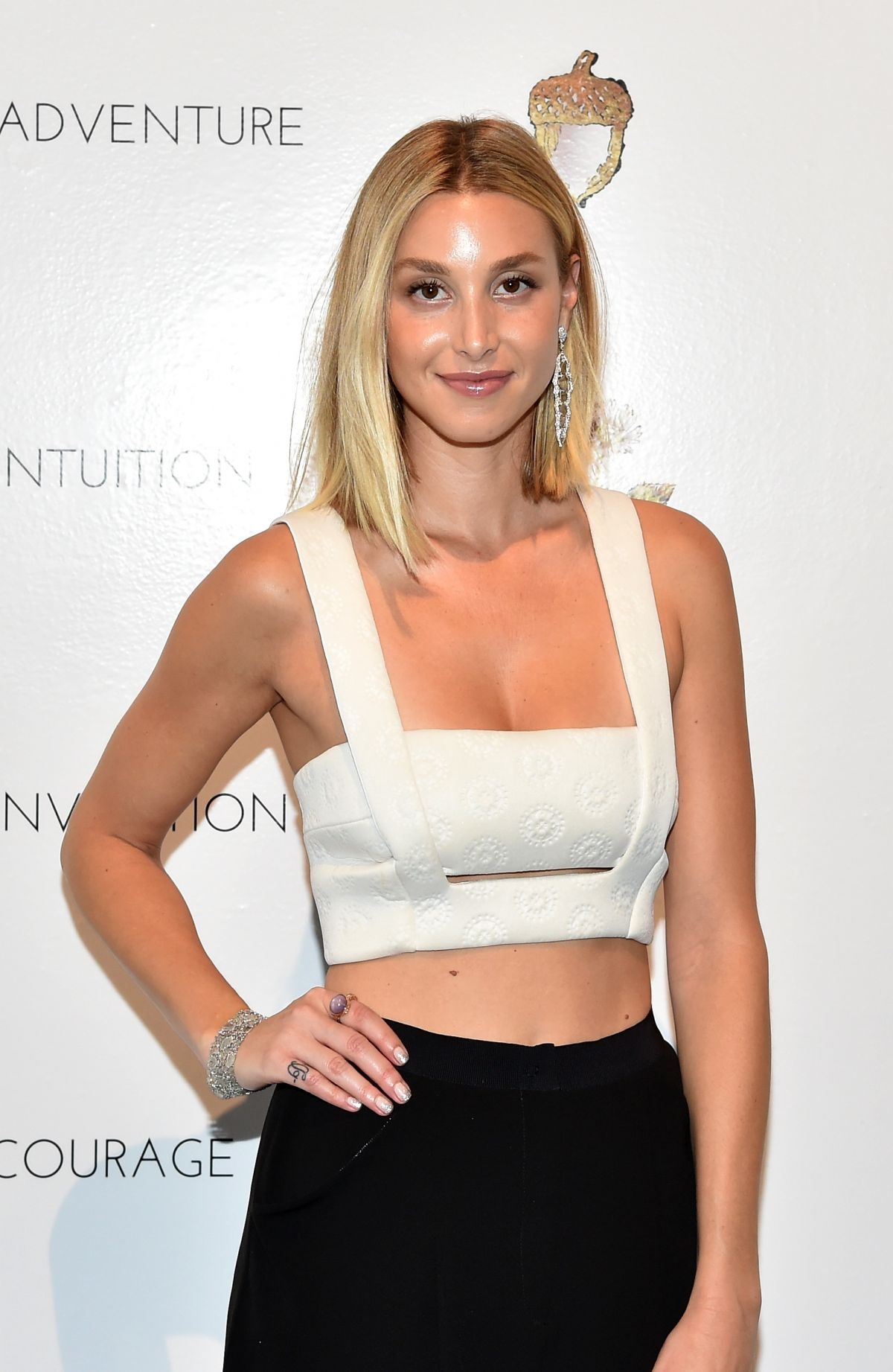 WHITNEY PORT at Cynthia Rowley Fashion Show in New York
