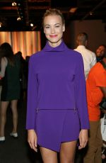YVONNE STRAHOVSKI at ICB Fashion Show in New York