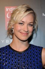 YVONNE STRAHOVSKI at Instyle 20th Anniversary Party in New York