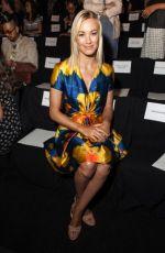 YVONNE STRAHOVSKI at Mercedes-Benz Fashion Week in New York