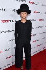 ZENDAYA COLEMAN at 2014 Teen Vogue Young Hollywood Party in Beverly Hills