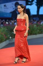 ZOE KRAVITZ at Good Kill Premiere at Venice Film Festival