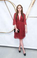 ZOEY DEUTCH at Diane Von Furstenberg Fashion Show in New York