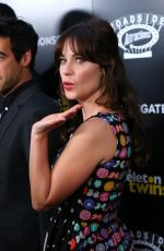 ZOOEY DESCHANEL at The Skeleton Twins Premiere in Hollywood