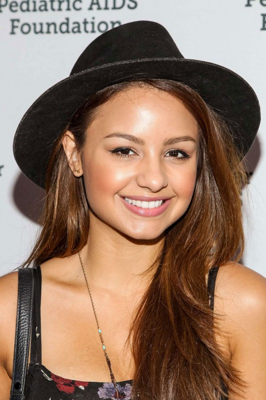 AIMEE CARRERO at A Time for Heroes Celebration
