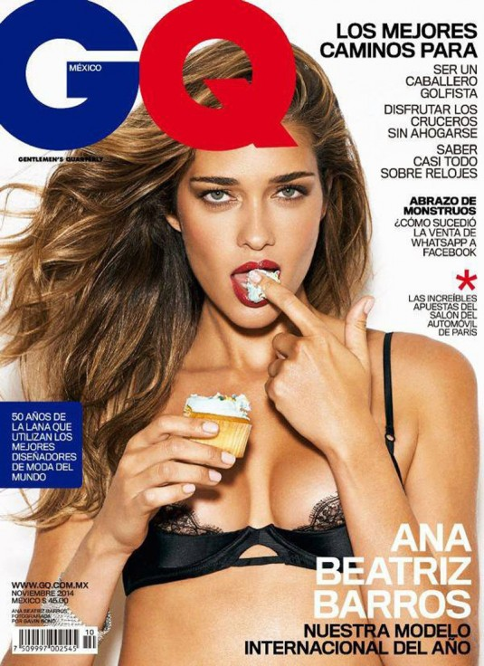 ANA BEATRIZ BARROS in GQ Magazine
