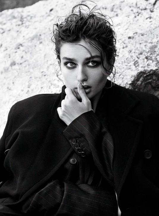 ANDREEA DIACONU in Vogue Magazine