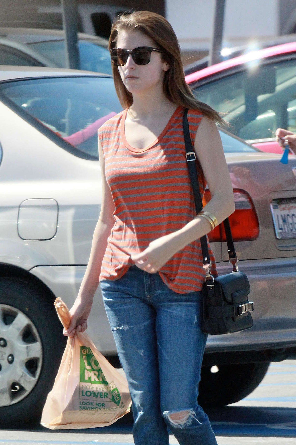 Anna Kendrick In Jeans Out And About In Los Angeles