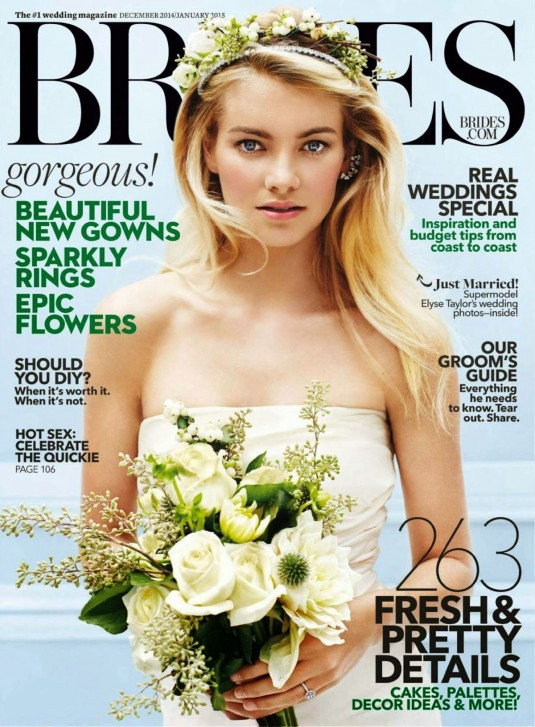 ELYSE TAYLOR in Brides USA Magazine