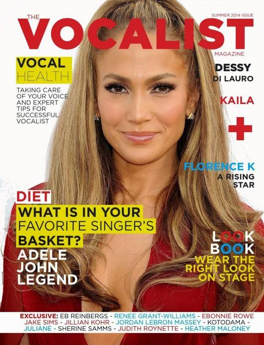 JENNIFER LOPEZ  in The Vocalist Magazine