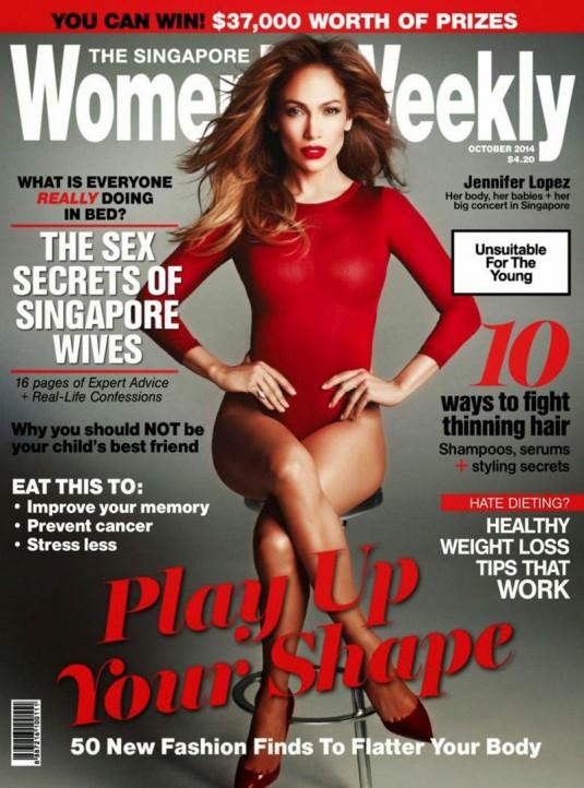 JENNIFER LOPEZ in Womens Weekly Magazine