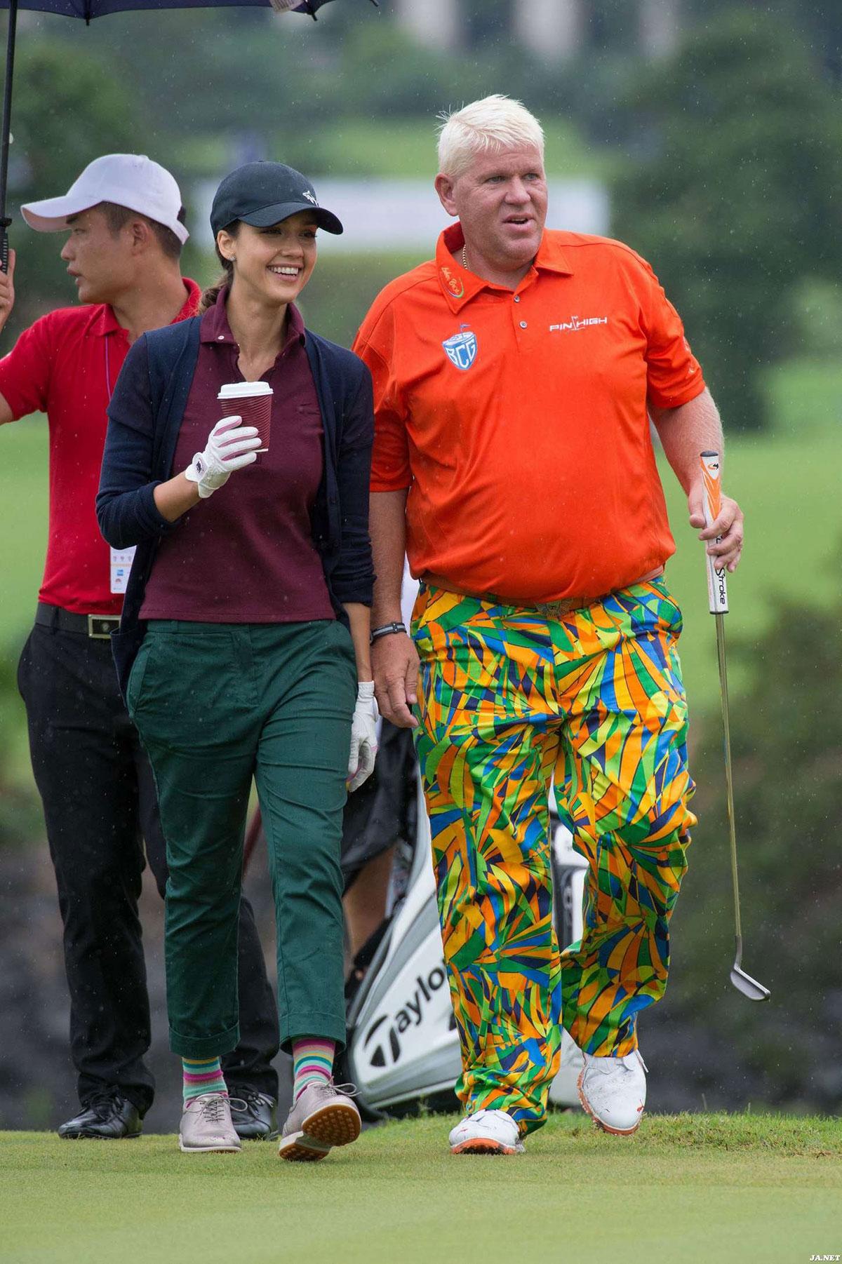 World celebrity pro am golf