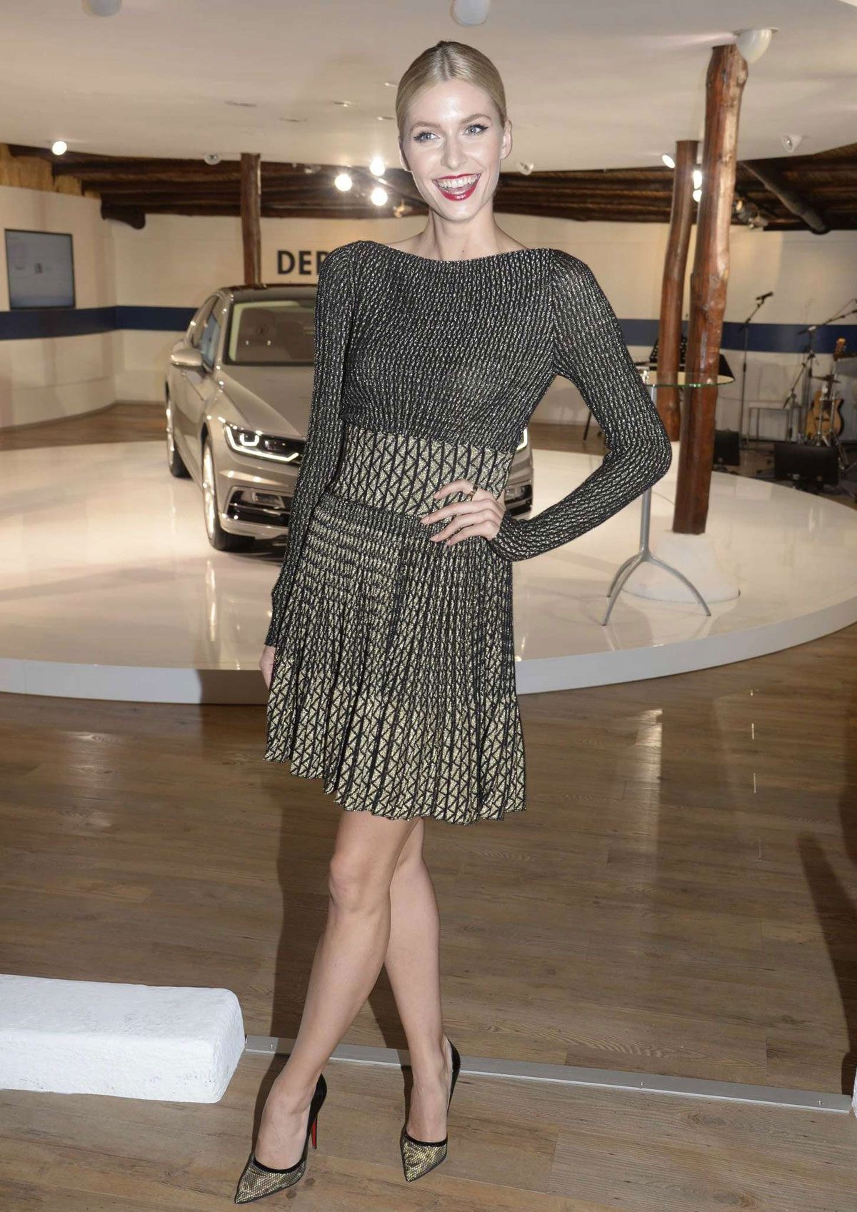 Vw Van Nuys >> LENA GERCKE at VW Passat Presentation in Sardinia - HawtCelebs