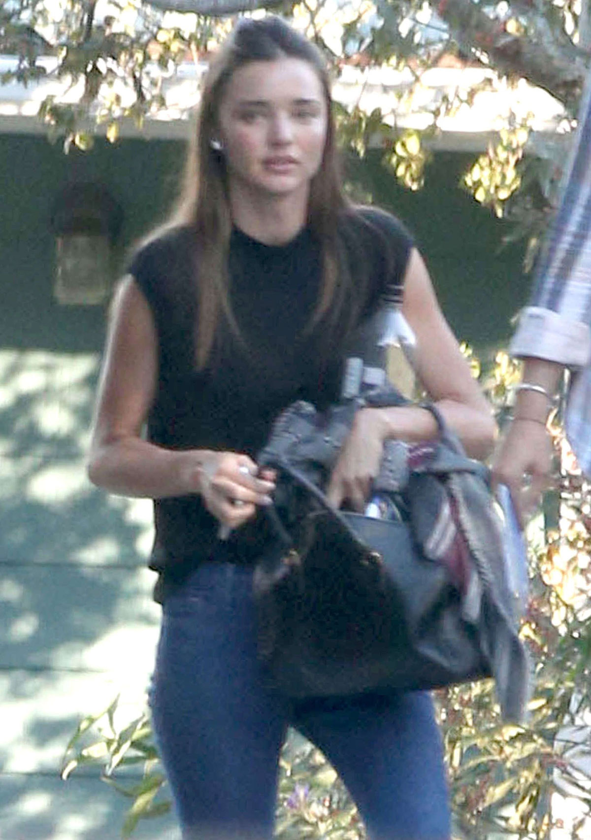 Miranda Kerr In Tight Jeans Leaves A Gym In Los Angeles