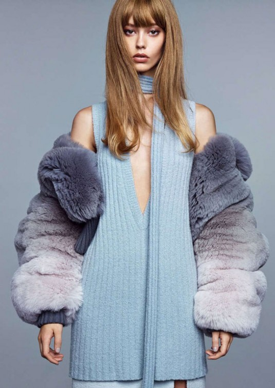 ONDRIA HARDIN in Vogue Magazine