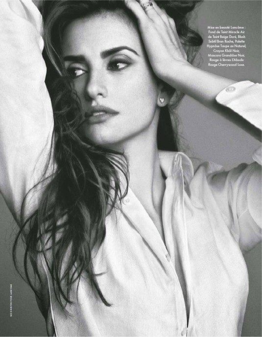 PENELOPE CRUZ in Elle Magazine