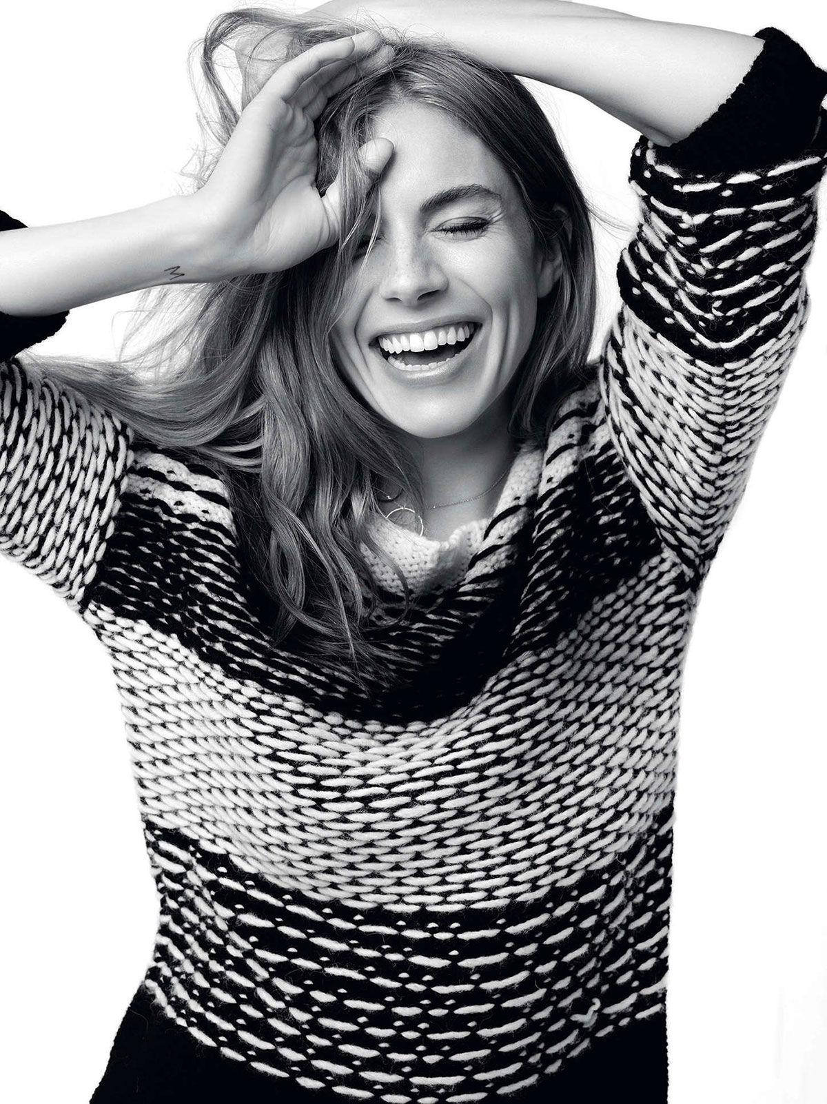 565246983a04 SIENNA MILLER – Caroll 2014 Collection by Cass Bird - HawtCelebs