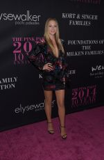 A.J. COOK at 10th Anniversary Pink Party in Santa Monica