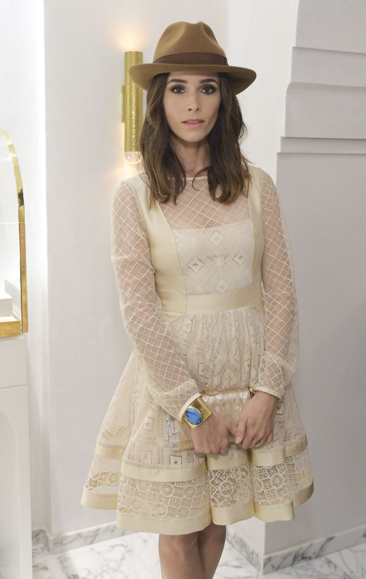 ABIGAIL SPENCER at Irene Neuwirth Store Opening in West Hollywood