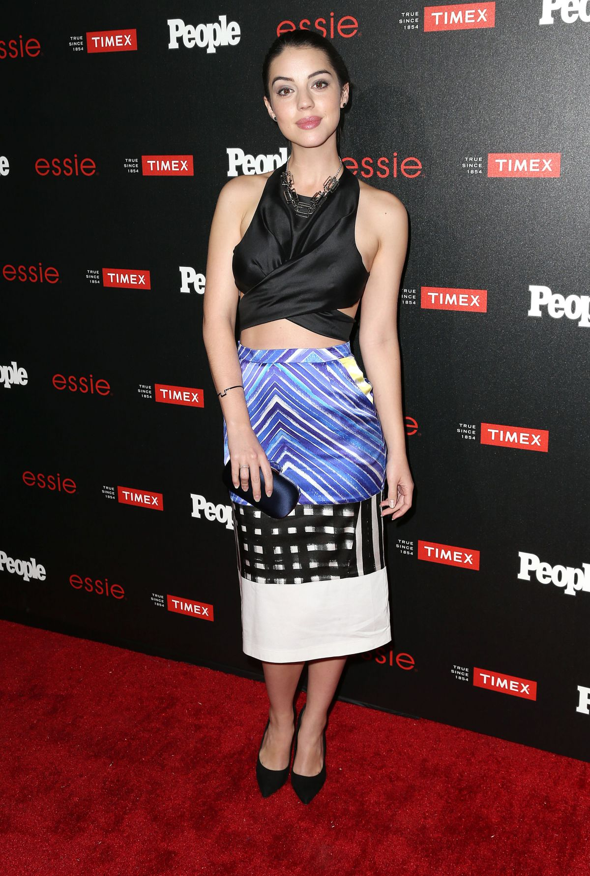 ADELAIDE KANE at People Ones to Watch Party in Los Angeles