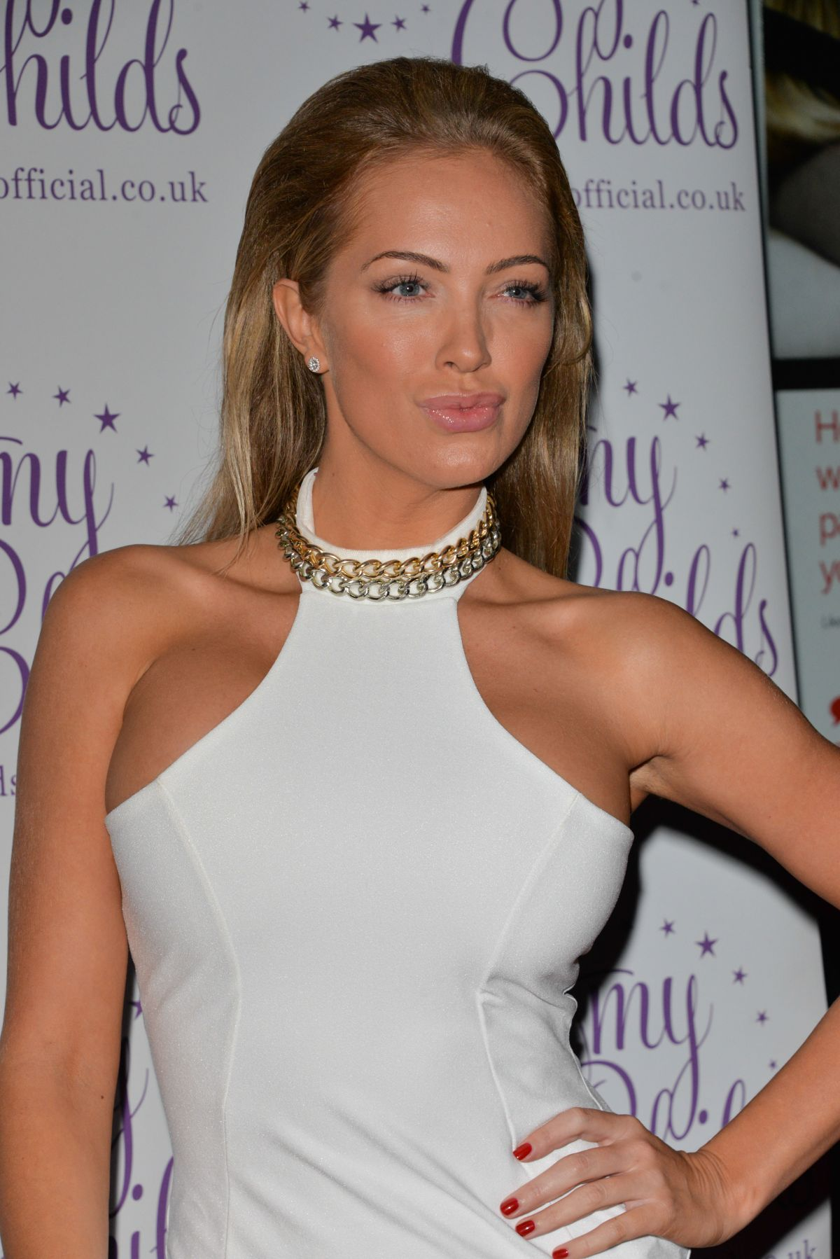 AISLEYNE HORGAN-WALLACE at Amy Childs Clothing 3rd Anniversary Party‏ in London