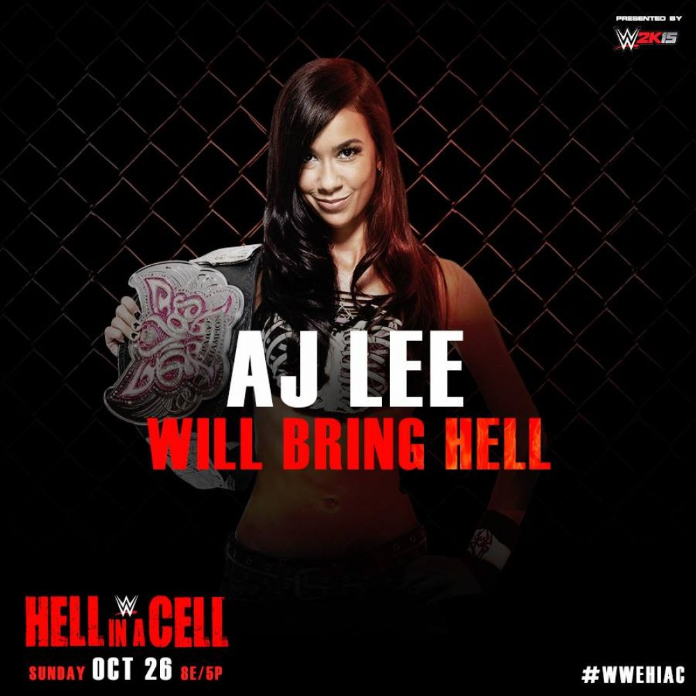 AJ LEE - WWE Hell in a Cell 2014 PPV Promo