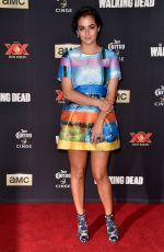 ALANNA MASTERSON at The Walking Dead Season 5 Premiere in Los Angeles