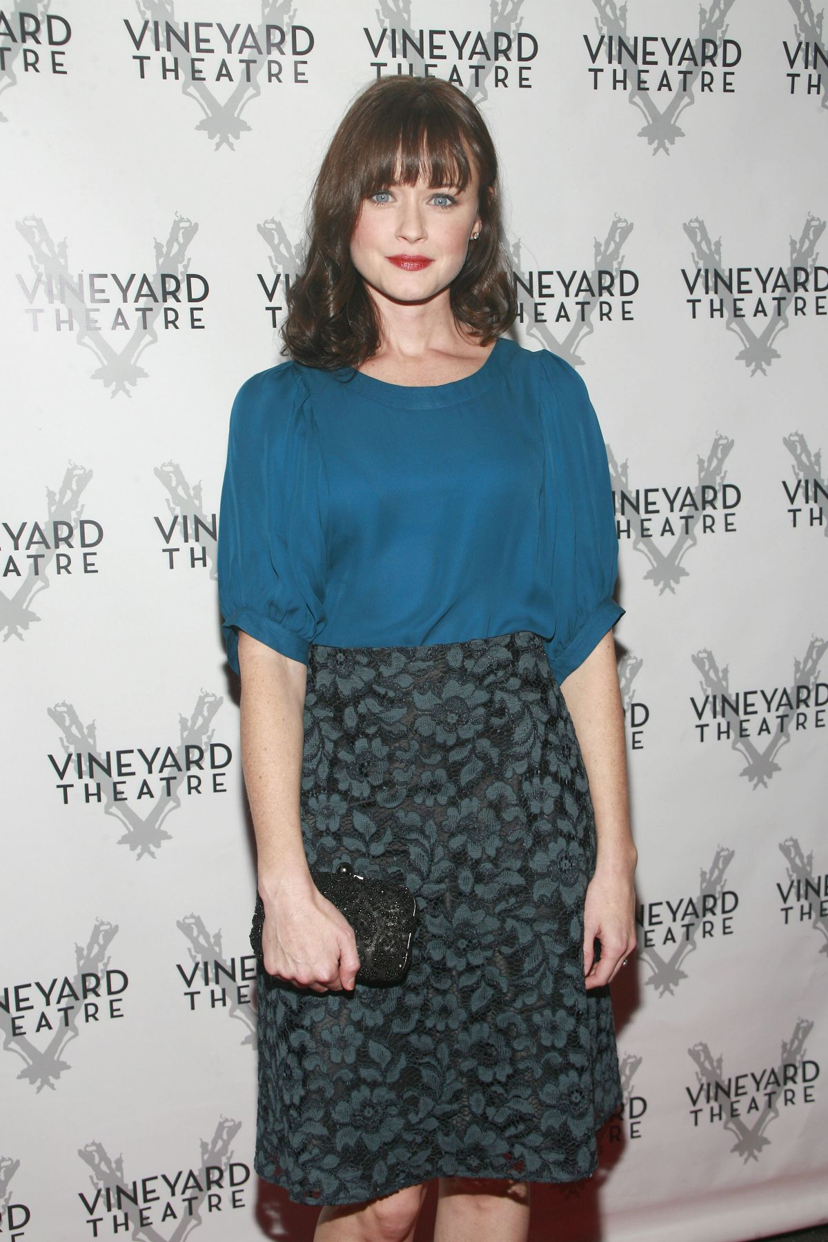 ALEXIS BLEDEL Opening Night Arrivals for Billy and Ray in New York