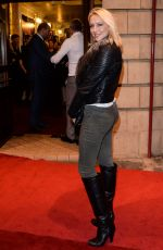 ALI BASTIAN at Memphis Opening Night in London
