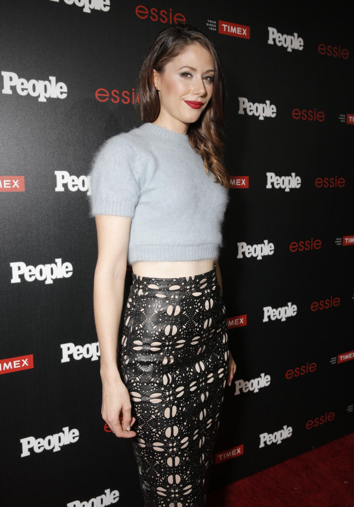 AMANDA CREW at People Ones to Watch Party in Los Angeles