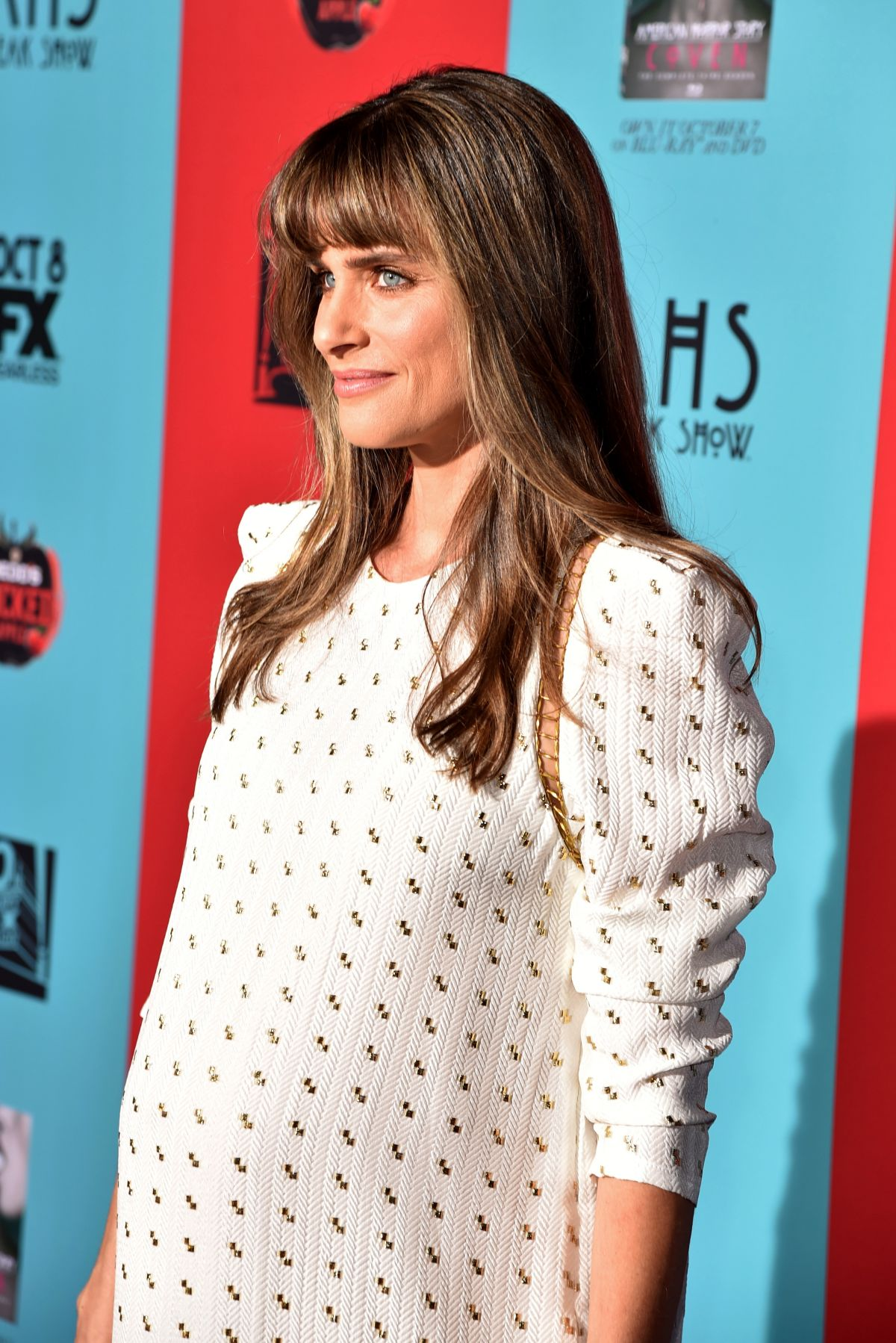 AMANDA PEET at American Horror Story: Freak Show Premiere in Hollywood