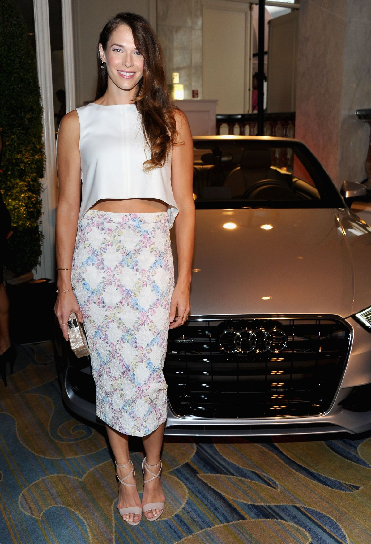 AMANDA RIGHETTI at 2014 Variety Power of Women in Beverly Hills