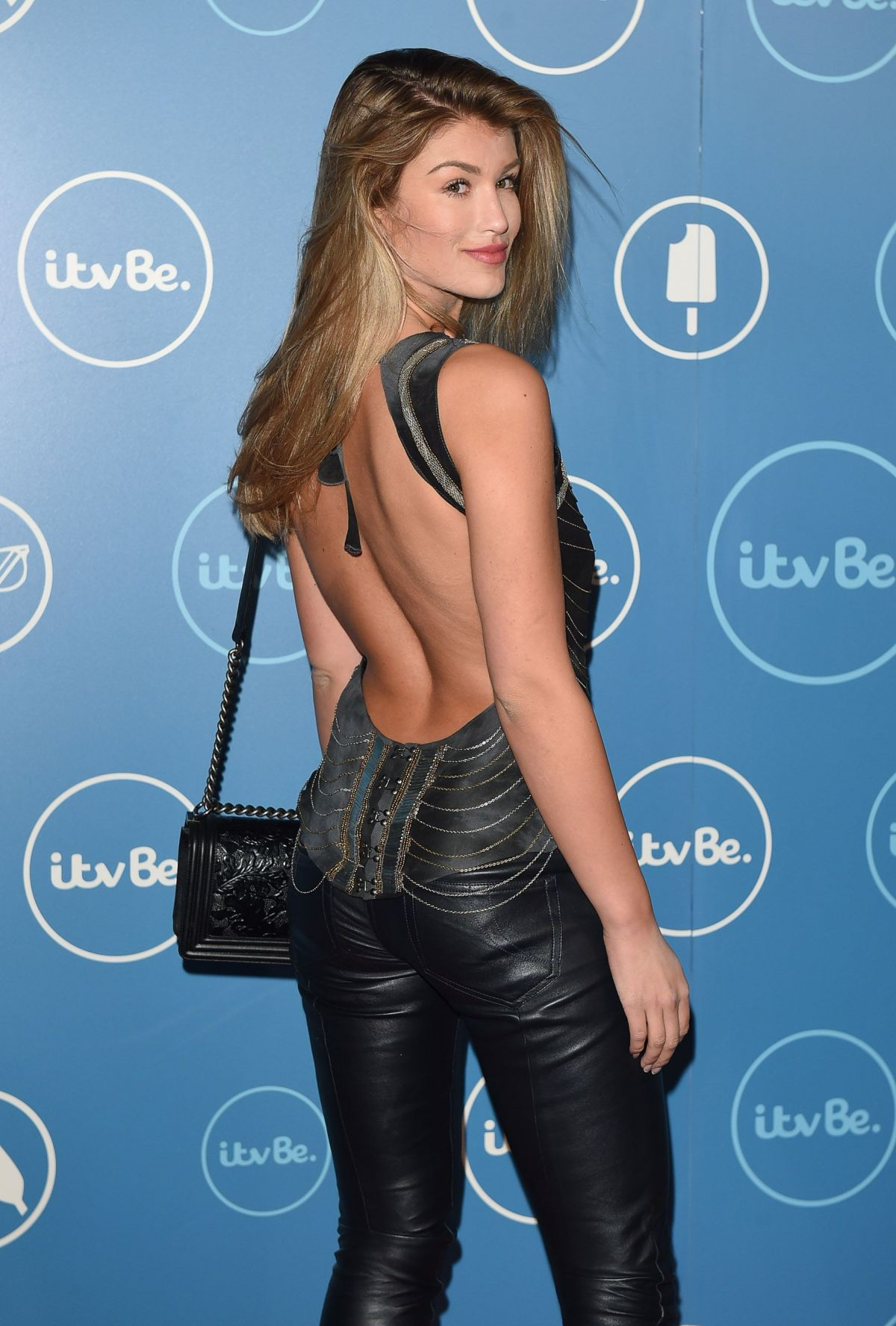 AMY WILLERTON at ITV Be Launch