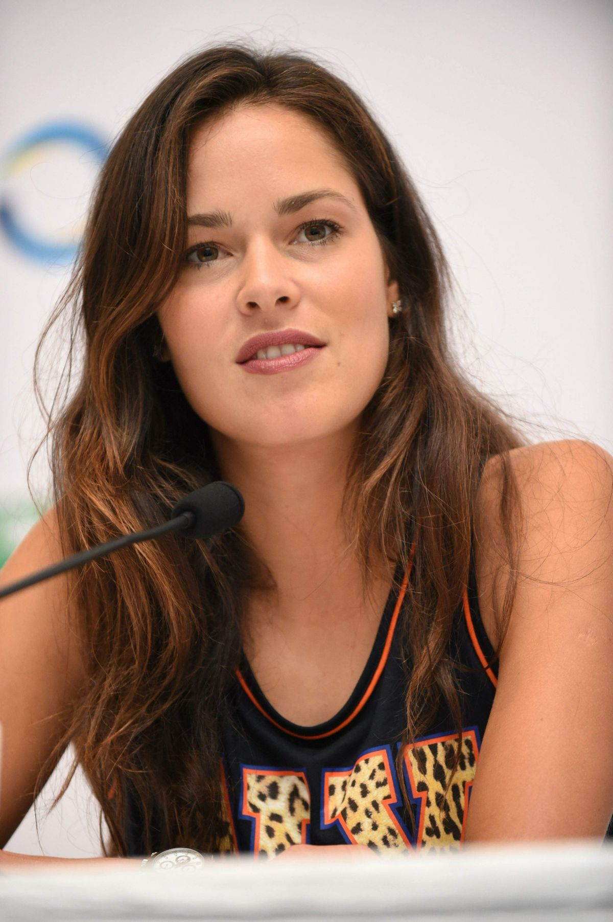 ANA IVANOVIC at BNP Paribas WTA Finals Press Conference in ... Megan Fox Diet