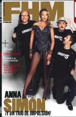 ANNA SIMON in FHM Magazine, Spainn October 2014 Issue