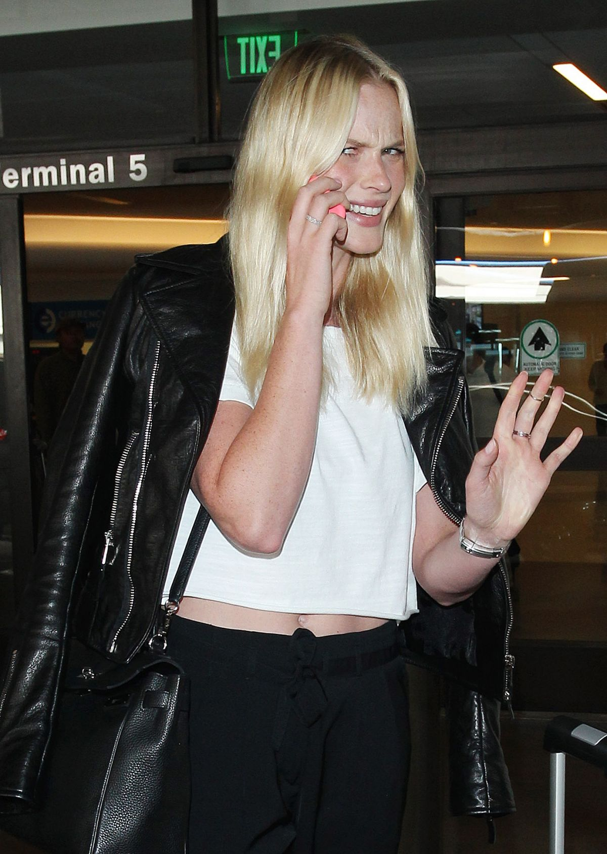 ANNE VYALITSYNA Arrives at Los Angeles International Airport  1010