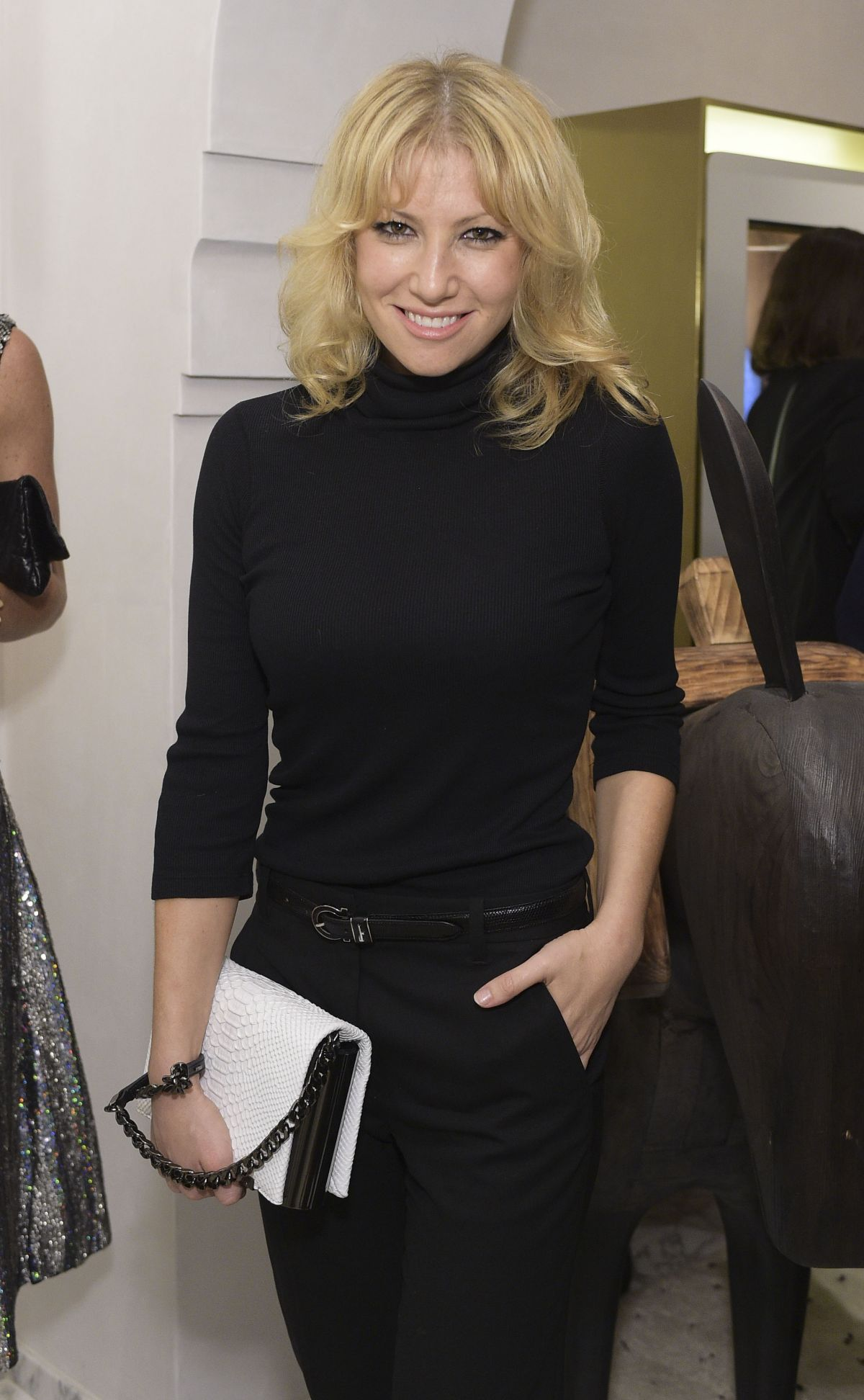 ARI GRAYNOR at Irene Neuwirth Store Opening in West Hollywood