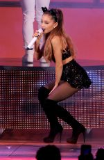 ARIANA GRANDE Performs at We Can Survive 2014 in Los Angeles