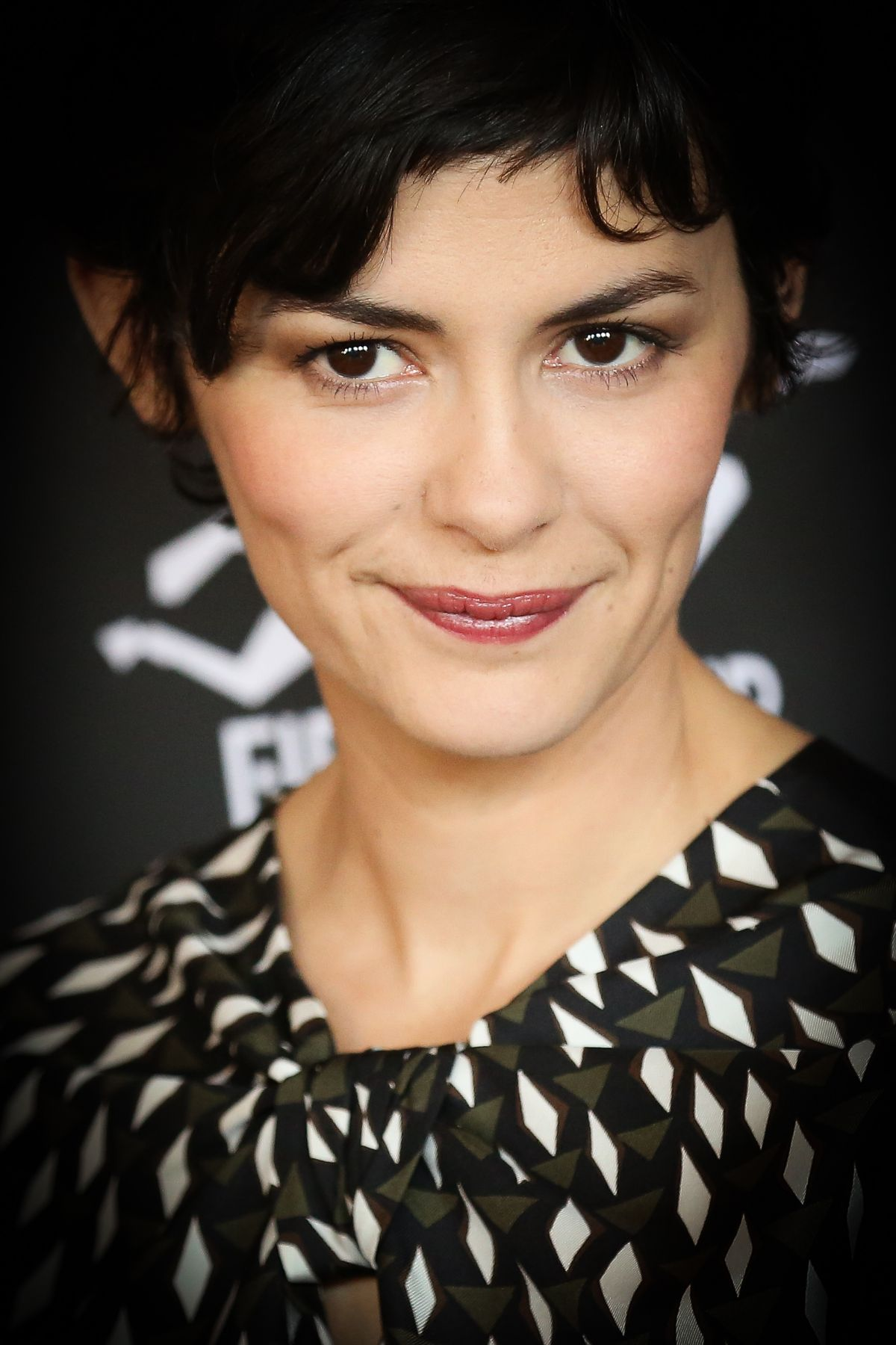 AUDREY TAUTOU at 29th International Francophone Film Festival in Belgium