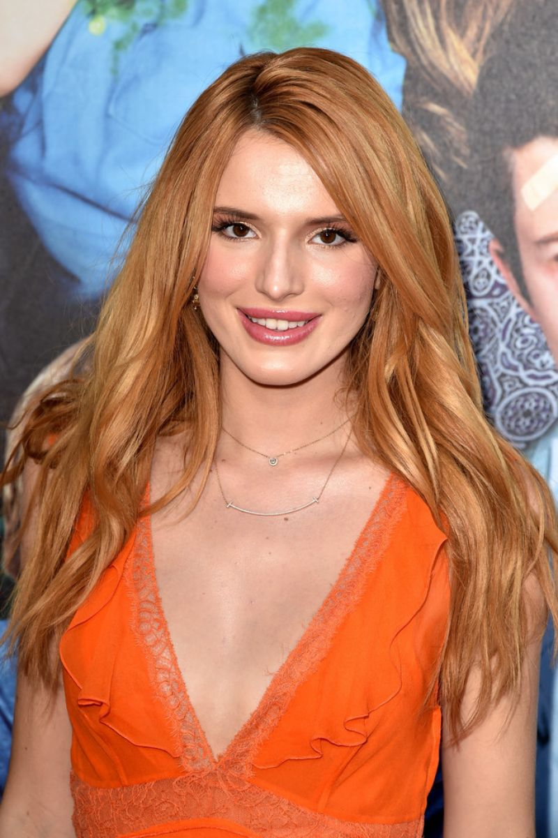 BELLA THORNE at Alexander and the Terrible, Horrible, No Good, Very Bad Day Premiere in Hollywood