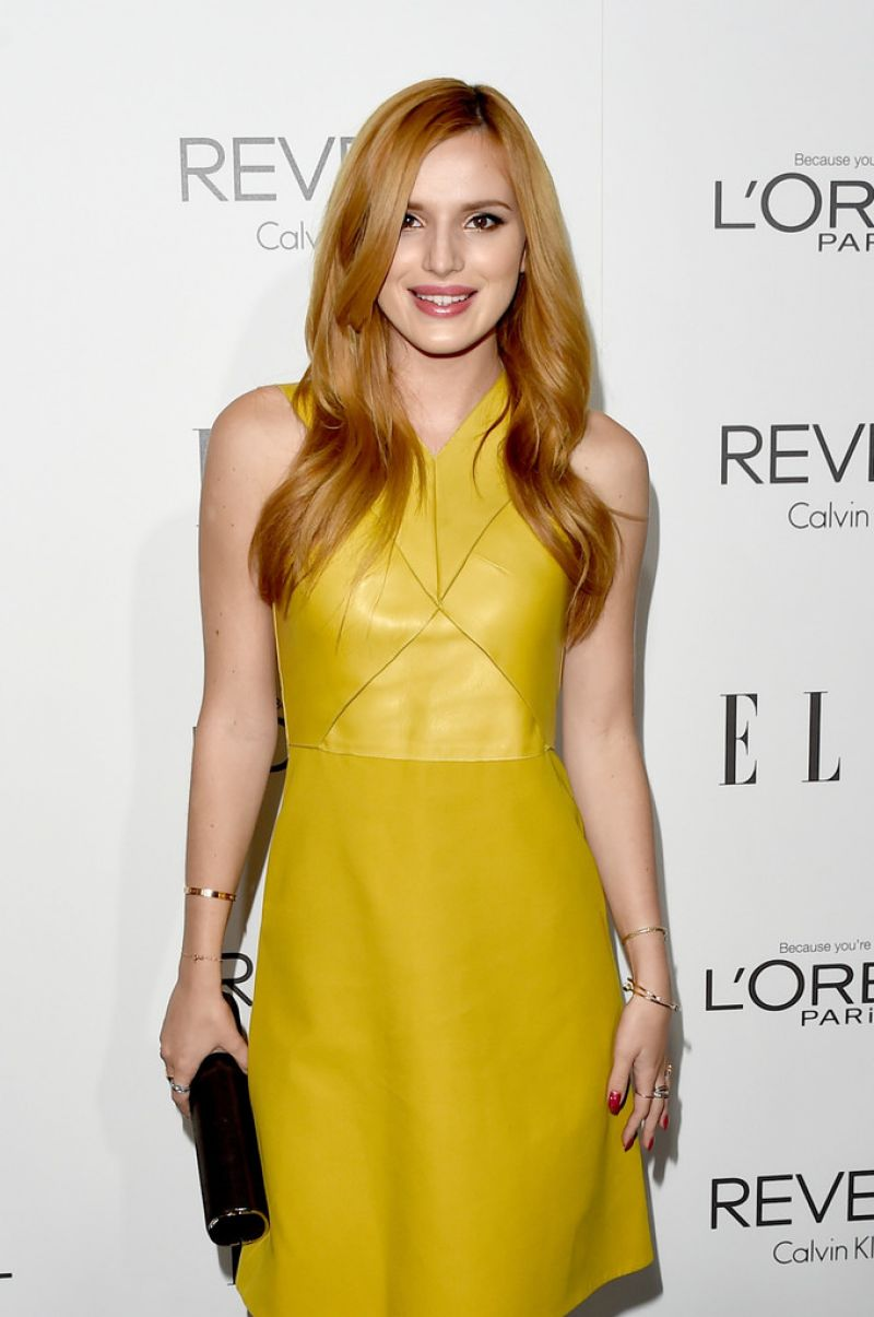 BELLA THORNE at Elle's Women in Hollywood Awards in Los Angeles
